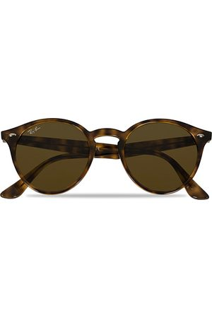 Ray-Ban RB2180 Acetat Sunglasses Dark Havana/Dark Brown