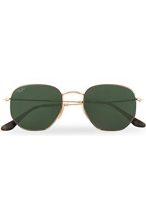 Ray-Ban 0RB3548N Hexagonal Sunglasses /Green