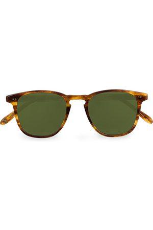 GARRETT LEIGHT Brooks 47 Sunglasses Pinewood/Pure Green