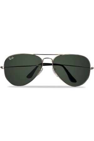 Ray-Ban Aviator Large Metal Sunglasses Silver/Grey Mirror