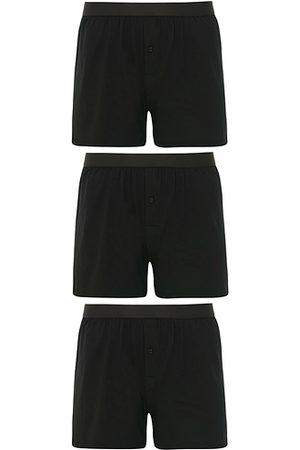 CDLP Herren Boxershorts - 3-Pack Boxer Shorts Black