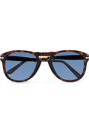 Persol Herren Sonnenbrillen - 0PO0714 Folding Sunglasses Havana/Blue Gradient