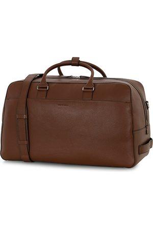 Tiger of Sweden Herren Reisetaschen - Brome Grained Leather Weekendbag Brown