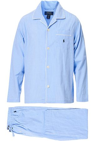 Polo Ralph Lauren Pyjama Set Mini Gingham Blue