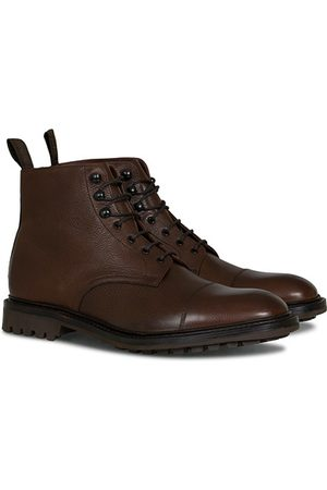 Loake Sedbergh Derby Boot Brown Grain Calf