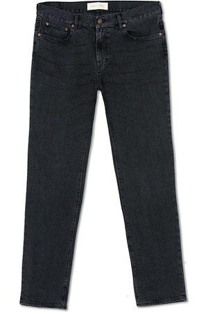Jeanerica Herren Slim - SM001 Slim Jeans Used Black