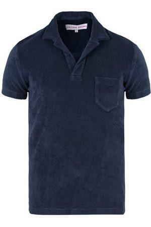 Orlebar Brown Herren Poloshirts - Terry Polo Navy