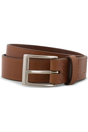 Tarnsjo Garveri Leather Belt 3cm Cognac