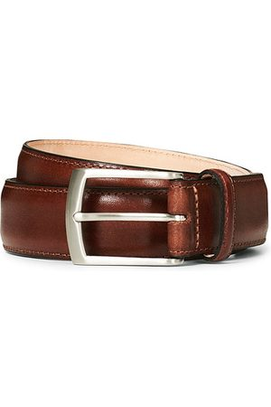 Loake Henry Leather Belt 3,3 cm Mahogany