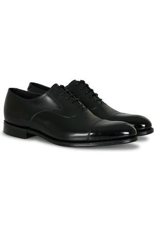 Loake Hanover Toe Cap Oxford Onyx Black