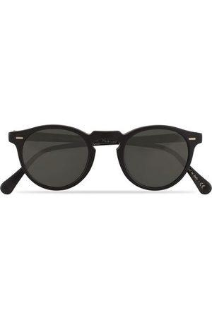 Oliver Peoples Herren Sonnenbrillen - Gregory Peck Sunglasses Black/Midnight