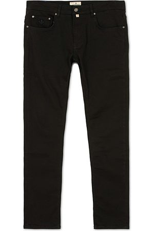 Morris Steve Satin Stretch Jeans Black