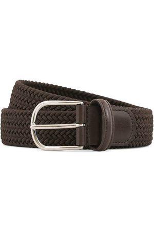 Anderson's Herren Gürtel - Stretch Woven 3,5 cm Belt Brown