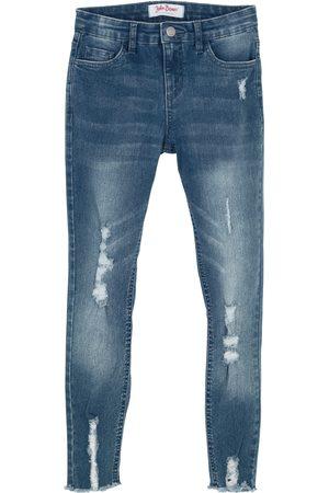 Bonprix Mädchen Skinny-Jeans mit Used Effekt