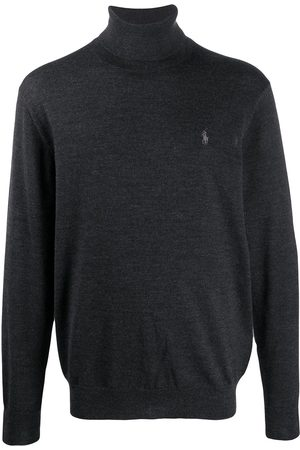 Polo Ralph Lauren Logo-embroidered roll neck sweater
