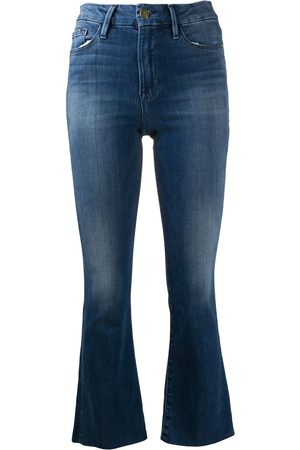 Frame Le Cropped bootcut jeans