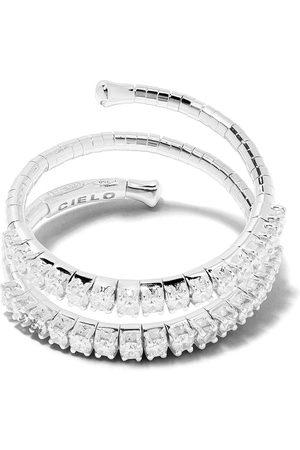 Mattia Cielo 18kt Weißgoldring mit Diamanten