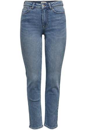 Only Onlerica Life Mid Ankle Straight Fit Jeans Damen