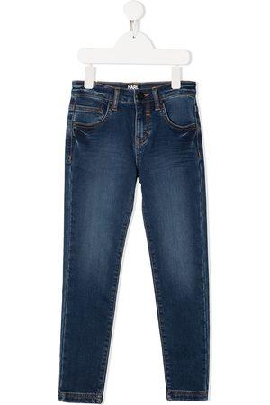 Karl Lagerfeld Jungen Skinny - Skinny-Jeans mit Print