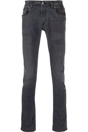 Etro Embroidered logo skinny jeans