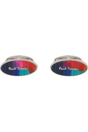 Paul Smith Herren Manschettenknöpfe - Logo print cufflinks