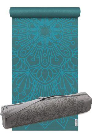YOGISTAR.COM Yoga-set Starter Edition - Lotus Mandala (yogamatte + Yogatasche)