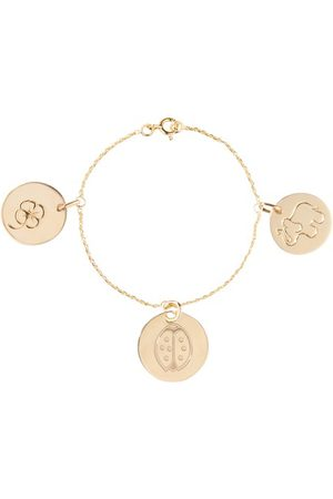 Aurélie Bidermann Armband 3 Medaillen Gold