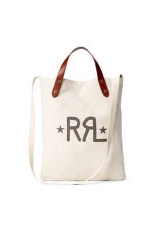 RRL Logo-Tragetasche aus Segeltuch