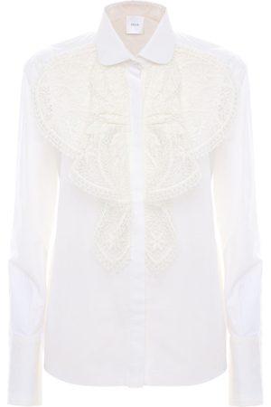 Patou Damen Blusen - Besticktes Hemd Aus Baumwollpopeline