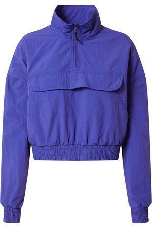 Urban classics Damen 'Ladies Cropped Crinkle Nylon Pull Over Jacket