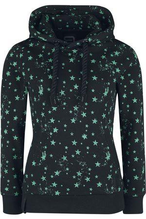 RED by EMP Damen Sweatshirts - Kapuzenpullover mit Sternen-Print Kapuzenpullover