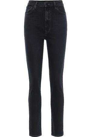 J Brand High-Rise Straight Jeans 1212 Runway