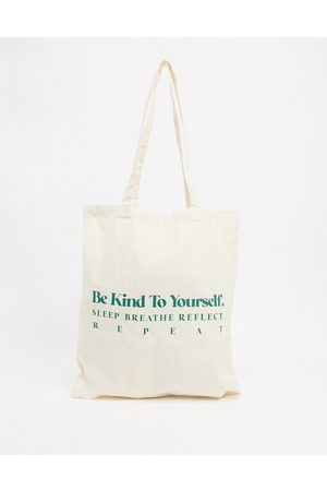 ASOS – Be Kind – Shopper-Tasche in Natur