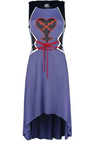 Kingdom Hearts Damen Midikleider - Herzlose Mittellanges Kleid multicolor