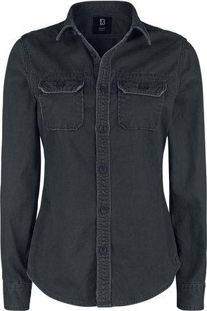 Brandit Mädchen Blusen - Girls Vintage Shirts Longsleeve Langarmhemd