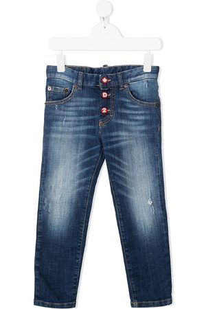 Dsquared2 Kids Faded straight-leg jeans