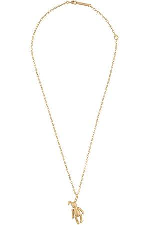 AMBUSH Halskette mit Kaninchenanhänger