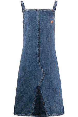 Walter Van Beirendonck Pre-Owned Damen Kleider - 1990s Jeans-Kleid