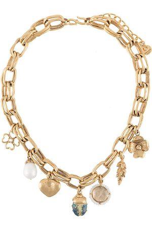 Goossens Halskette mit Talisman-Anhängern