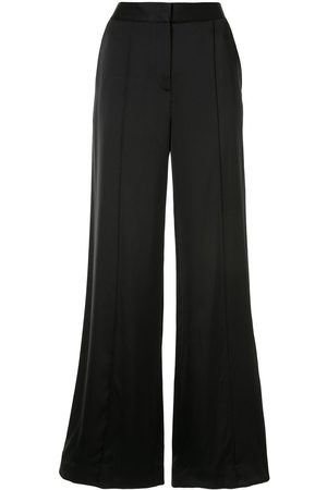 Victoria Victoria Beckham Satinhose mit weitem Bein