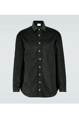 King and Tuckfield Oversize-Hemd aus Baumwolle