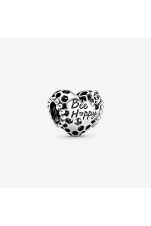 "PANDORA ""Bee Happy"" Waben-Herz Charm"