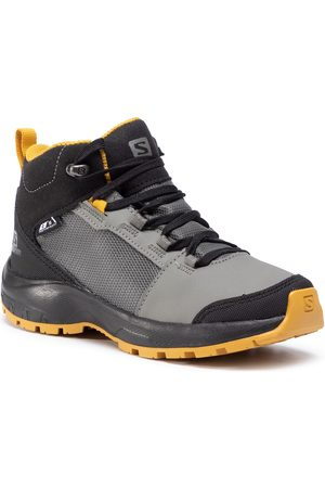 Salomon Outward Cswp J 409722 09 W0 Castor Gray/Black/Arrowwood