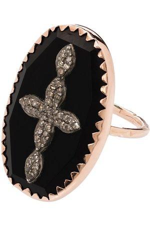 Pascale Monvoisin 9kt Rotgoldring mit Diamanten