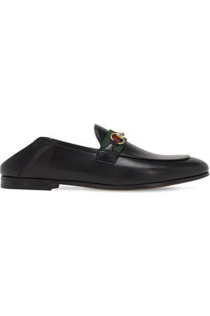 "Gucci 10mm Hohe Lederloafers ""brixton"""