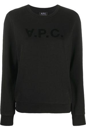 A.P.C. T-Shirt mit Logo-Print