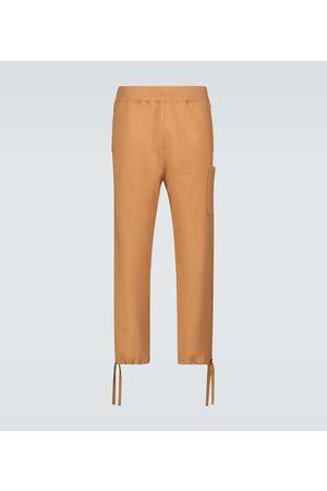 UNDERCOVER Hose aus Baumwolle mit Kordelzug
