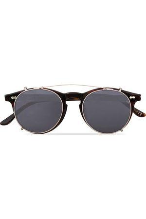 TBD Eyewear Pleat Clip On Sunglasses Classic Tortoise