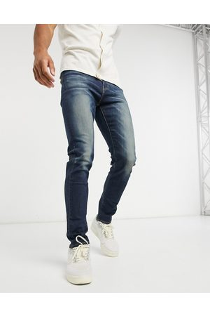 Levi's – 510 – Enge Jeans in Advanced-Waschung in Dunkelindigo