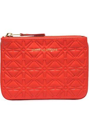Comme Des Garçons Wallet Portemonnaie mit eingeprägtem Muster